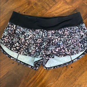 Lululemon ultra run shorts